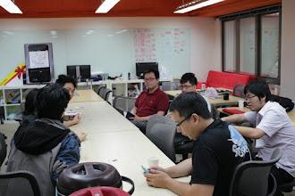 Photo: Idea brainstorming