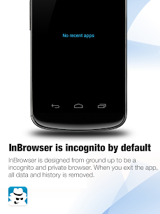 InBrowser – Incognito Browsing 5