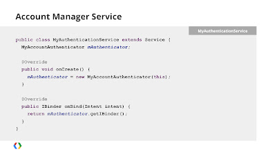Photo: Your Account Authenticator also needs to run in a Service.