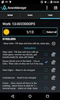 Screenshot of AwareManager Mobile
