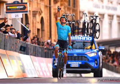 """Mooie woorden na winst in Tirreno-Adriatico: """"Draag deze zege op aan Michele Scarponi"""""""