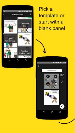 玩免費漫畫APP|下載Frameless Comics Maker app不用錢|硬是要APP