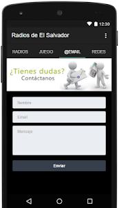 Radios de El Salvador Gratis screenshot 2