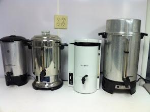 Photo: Brosig coffee makers