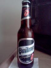Photo: 宿の冷蔵庫にあったビールになぜか、ベロマークが。