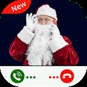 Santa Claus Call and Chat Simulation icon
