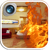 Fire Prank Camera: Fire in Pic