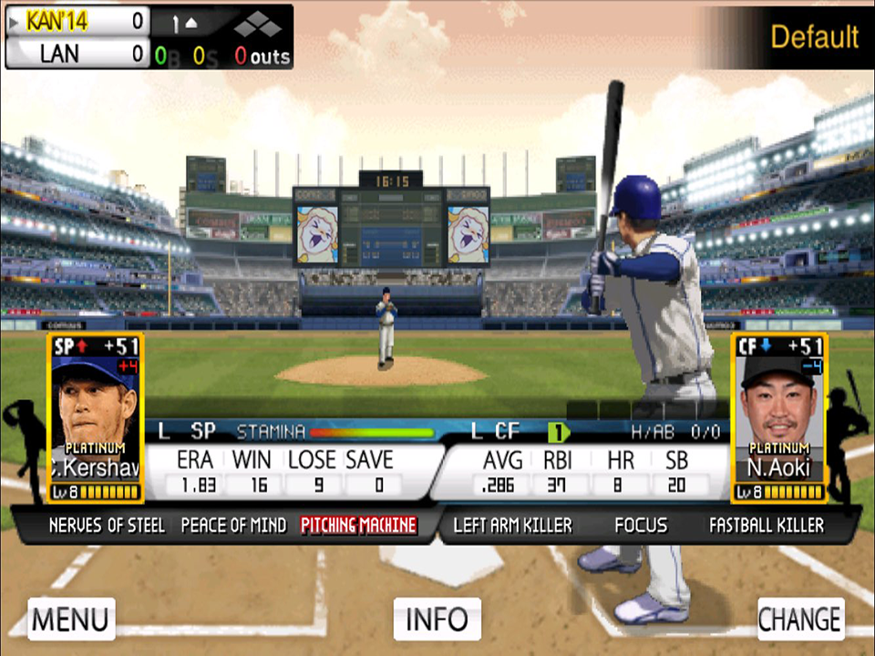 9 Innings: 2015 Pro Baseball - screenshot