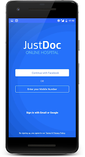 JustDoc Online Doctor - Consult a Doctor on Call Screenshot