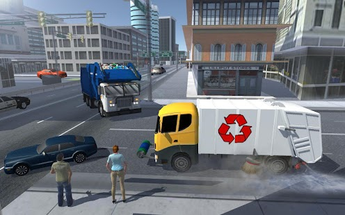 Road Garbage Dump Truck Driver- screenshot thumbnail