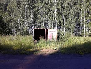 """Photo: """"Abri-bus"""" d'Orlovka - toujours le même"""