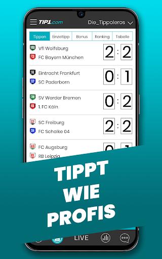 TIP1.com Tippspiel-App  screenshots 2