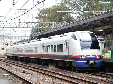 JR特急 E653系「しらゆき4号」