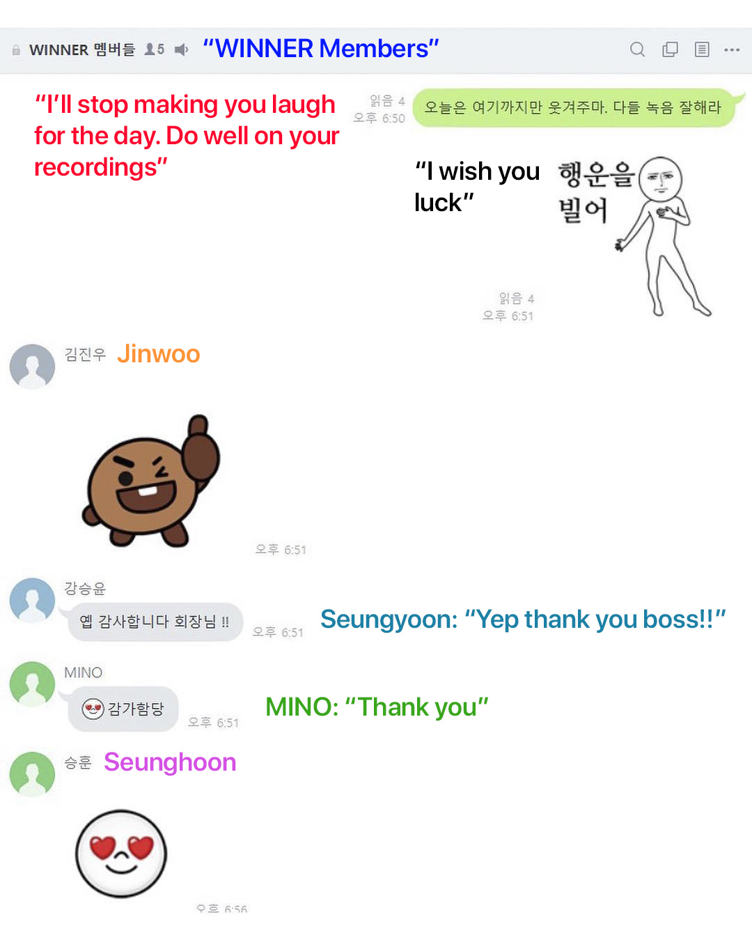 winner members jinwoo bts emoji