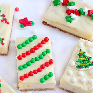 Holiday Cheesecake Presents.