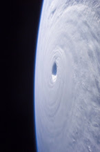 Photo: KoreaISS011-E-12343 (3 September 2005) --- Typhoon Nabi is featured in this image photographed by an Expedition 11 crewmember on the International Space Station, as it swirls in the Pacific Ocean, heading toward southern Korea and Japan. At the time this image was taken Typhoon Nabi was ~23N 133E with sustained winds ~100 knots, gusting to 120 knots.