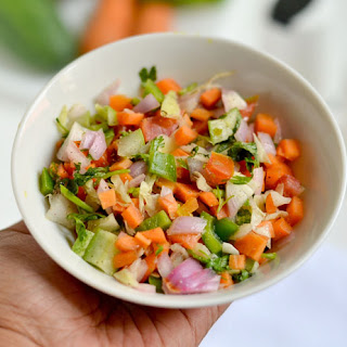 Indian Vegetable Salad Recipes.