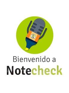 NoteCheck - náhled