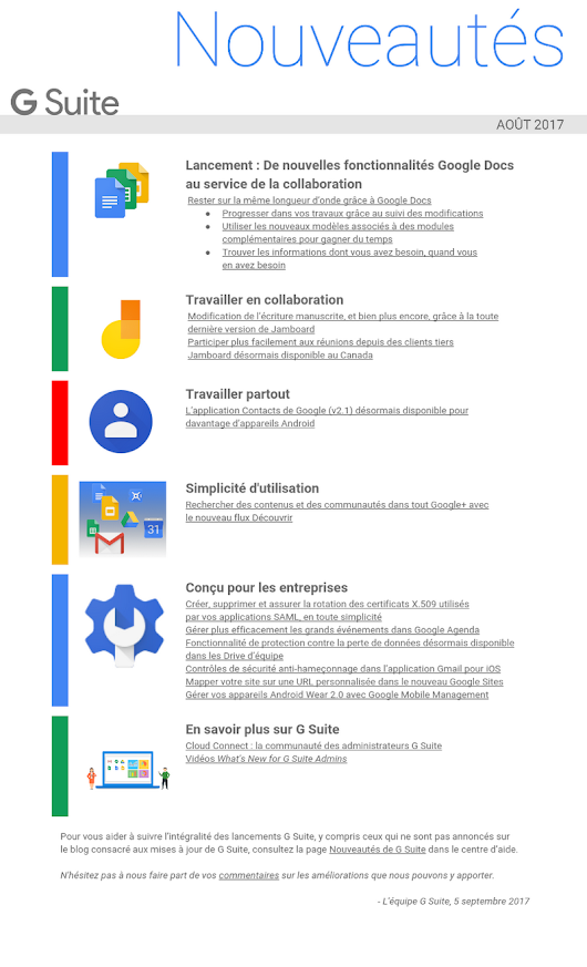 fr_What's New in G Suite - Recap of August 2017
