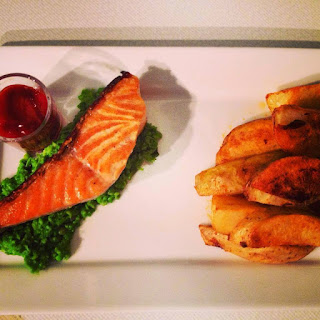 Skinny Fish & Chips.