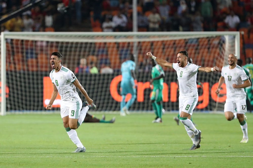 Lucky early goal wins Algeria the Africa Cup of Nations