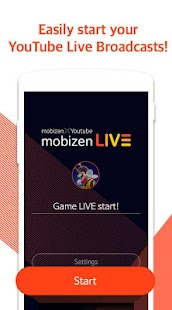 Mobizen Live Stream to YouTube (Unreleased) - náhled