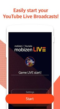 Mobizen Live Stream to YouTube (Unreleased)