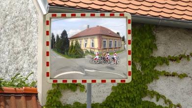 Photo: Verkehrsspiegel im Europaradler - Look.