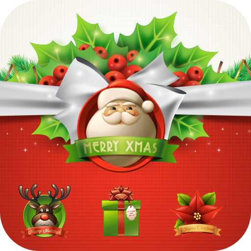 Merry Christmas Bow theme 3D (app)
