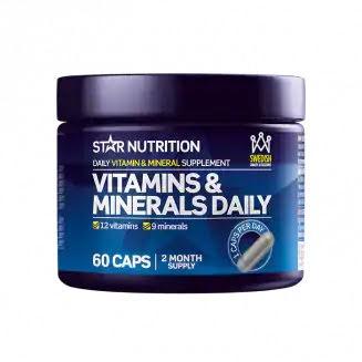 Vitamins & Minerals Daily 60 Kapslar