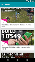 Screenshot of Windows Central — The app!