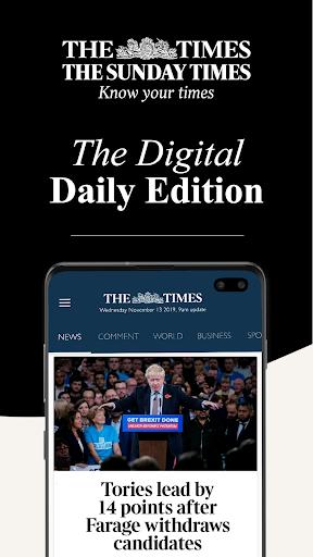 The Times screenshot 1