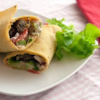 Chickpea Wraps (Gluten Free)