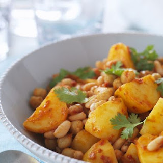 Chickpea and Cannellini Bean Stew