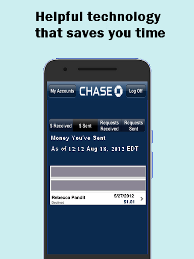 Quickpay - with chase advice 3 screenshots 3