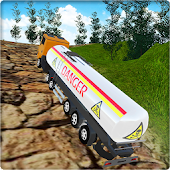 PK Cargo Truck Driver : Off-road Oil Tanker Games