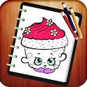 Coloring Book for Shopkins icon