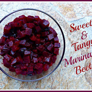 Sweet and Tangy Marinated Beets.