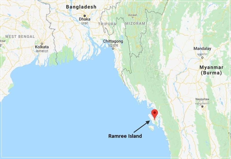 O pântano de sangue da ilha de Ramree