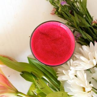 Tropical Strawberry Beet Juice.