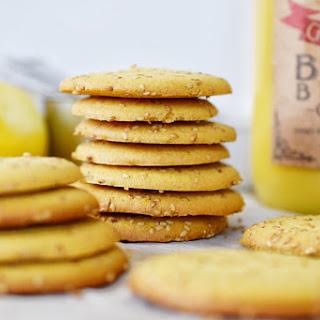 Lemon Shortbread Cookies with Sesame Seeds (paleo!)