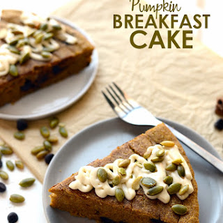Chocolate Chip Pumpkin Breakfast Cake.