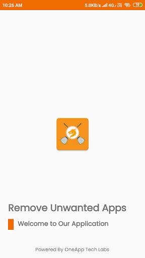 Remove Unwanted App (Unused App) screenshot 1