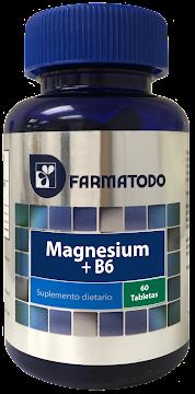 Farmatodo Magnesio + B6
