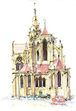 Photo: Semur en Auxois - Church back