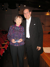 Photo: Ruth Lomon and Alexander Soloviev after concert at Boston University