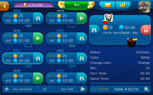 Checkers LiveGames - free online game 3.85 screenshots 20