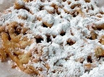 Funnel Cakes at Home or for that Family get-together will be a big hit !
