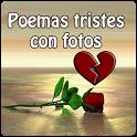 Poemas tristes con fotos icon