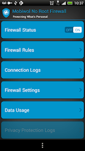 Mobiwol: NoRoot Firewall 5.51 [Mod + APK] Android 1